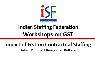 WORKSHOP- IMPACT OF GST ON CONTRACTUAL STAFFING