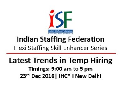 ISF: Latest Trends in Temp Hiring