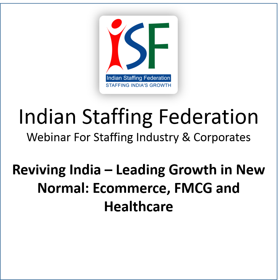 Reviving India – Leading Growth in New Normal: Ecommerce, FMCG and Healthcare